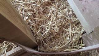 Дом из соломы, Беларуская технология Титовича. New in straw house , NO BALE NEED (NBT)