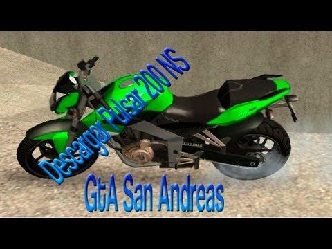 ★★Nueva Pulsar 200 NS para GTA San Andreas 2014 (HD) ★★
