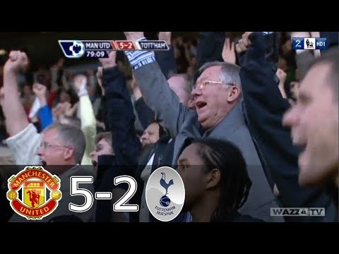 Five goals in 22 minutes Man United 5 2 Spurs