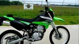 2. 2012 Kawasaki KLX250S Lime Green