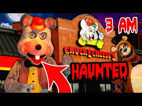 (HAUNTED!) 24 HOUR OVERNIGHT at an ABANDONDED CHUCK E CHEESE!! (5 kids went MISSING?)