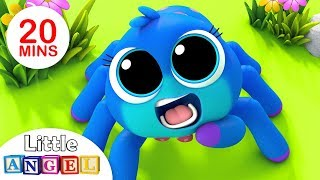 Video Itsy Bitsy Spider, Finger Family Peekaboo, Baby Panda Healthy Habits, Nursery Rhymes by Little Angel MP3, 3GP, MP4, WEBM, AVI, FLV Agustus 2018