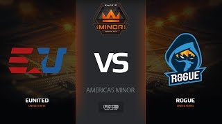 eUnited vs Rogue, map 3 inferno, Americas Minor – FACEIT Major 20182018 |