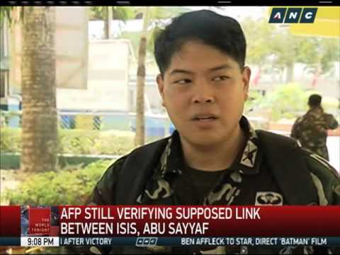 Video AFP looking into ISIS-Abu Sayyaf links download in MP3, 3GP, MP4, WEBM, AVI, FLV January 2017