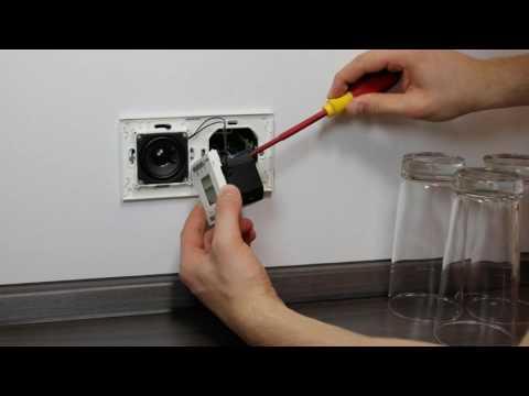 PEHA AudioPoint & Radio Einbauvideo | Honeywell Home