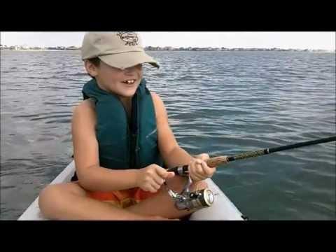 Father and Son Kayak Fishing – Spanish Mackerel