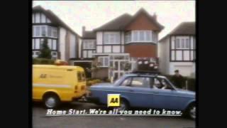 AA Homestart TV Advert Mid 90's