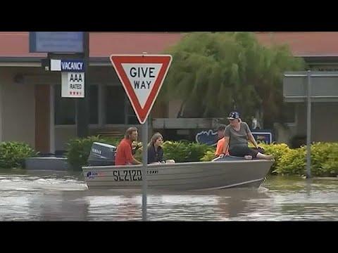Unwetter in Australien: Regierung ruft Katastrophenal ...