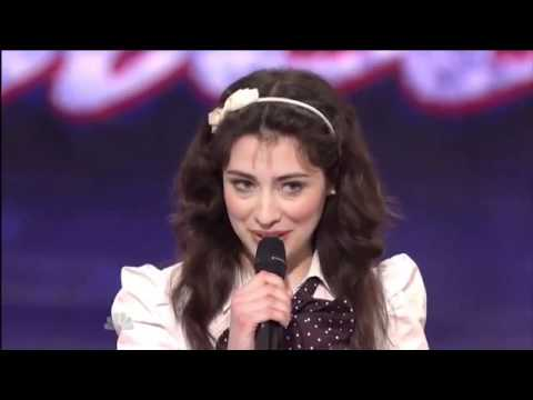 Stand Up Comedy - Melissa Villasenor, 23 ~ America's Got Talent 2011, Seattle Auditions