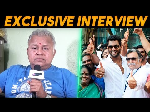 Exclusive Interview With Actor Radha Ravi After The Nadigar Sangam Elections