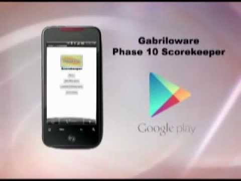 Video of Phase 10 Scorekeeper Free