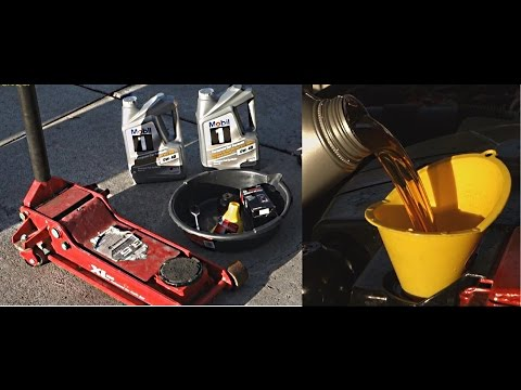 How to change Engine Oil on a Mercedes CLK Class | W209 | C209 | Filter