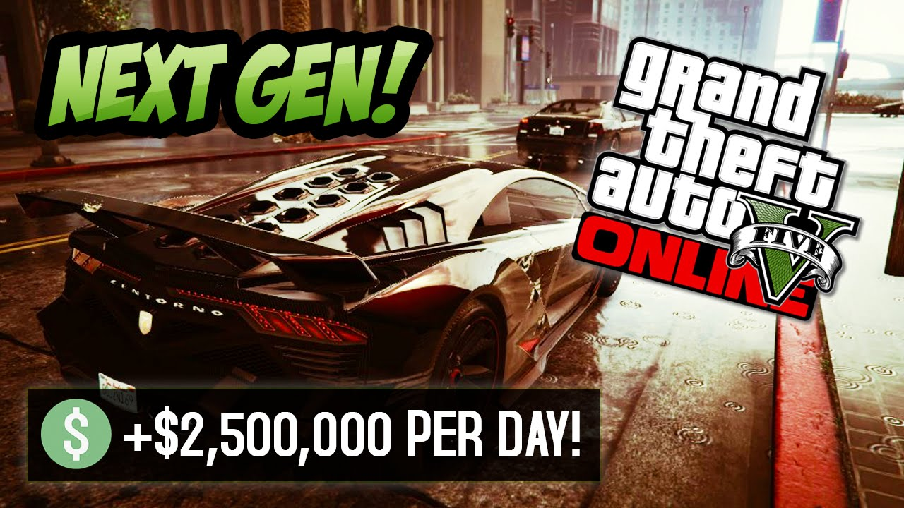 GTA 5 Online - Get Easy Money $2.5 Million FAST Every Day! (GTA 5 Next Gen)