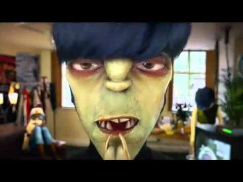 Gorillaz in Dressing Room: All 3 Parts together