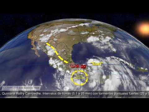 Earl podría ingresar nuevamente a las costas del sur de Veracruz