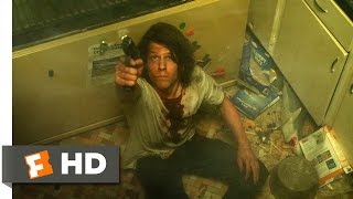 American Ultra (7/10) Movie CLIP - The Old Frying Pan Bullet Trick (2015) HD