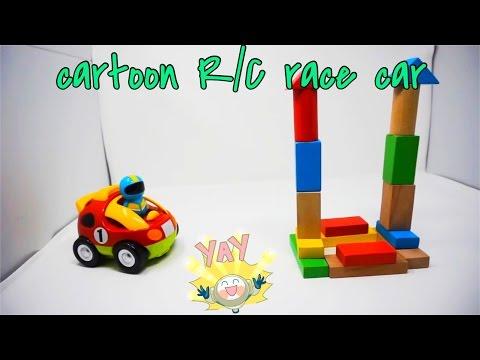 Cartoon R/C Race Car Radio Control Toy Review
