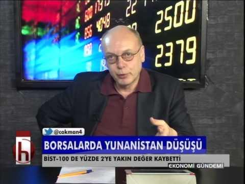 Dr. Cüneyt Akman'la Piyasalar: Borsalarda Yunanistan düşüşü