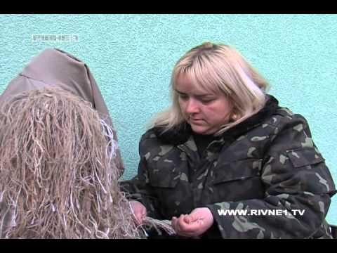 Рівнянки шиють маскувальні костюми для снайперів [ВІДЕО]
