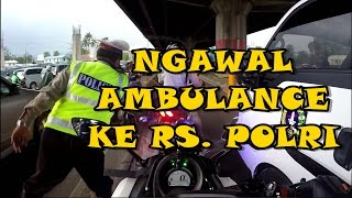 Video #4 ESCORTING AN AMBULANCE  | PERTAMA KALI NGAWAL KE SINI MP3, 3GP, MP4, WEBM, AVI, FLV Juni 2018
