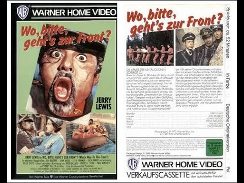 "Wo, bitte, geht's zur Front? (USA 1970 ""Which Way to the Front?"") Video Trailer deutsch / german VHS"