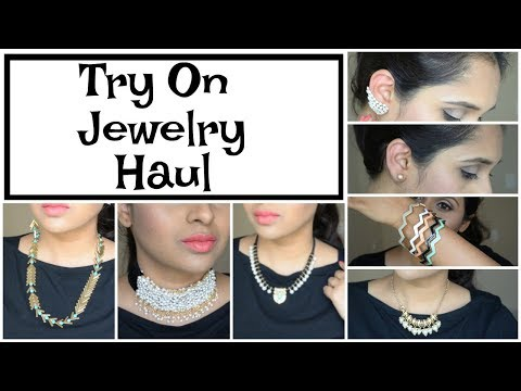 Trendy Jewelry Haul + GIVEAWAY | Happiness Boutique & Trinket Sea
