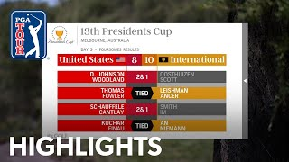 Highlights   Day 3   Presidents Cup 2019 by PGA TOUR