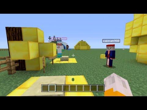 Minecraft Xbox - Speed Building Contest W/ iBallistic Squid - Part 1
