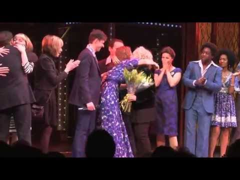 Carole King with the cast of Beautiful