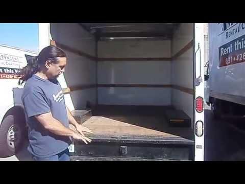 10ft baby box truck video
