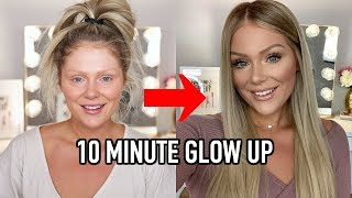 Video 10 MINUTE EVERYDAY MAKEUP TRANSFORMATION | GET READY WITH ME MP3, 3GP, MP4, WEBM, AVI, FLV Juli 2019
