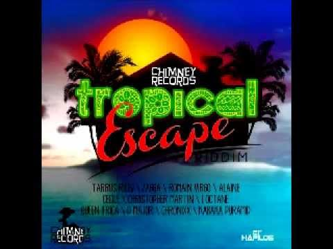 Tropical Escape Riddim Mix – Dec 2012 – Jan 2013 – Dj Ice – Chimney Records
