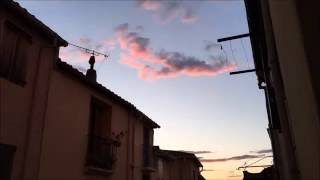 Argeles-sur-Mer France  city pictures gallery : Sunset in Argeles sur Mer, France