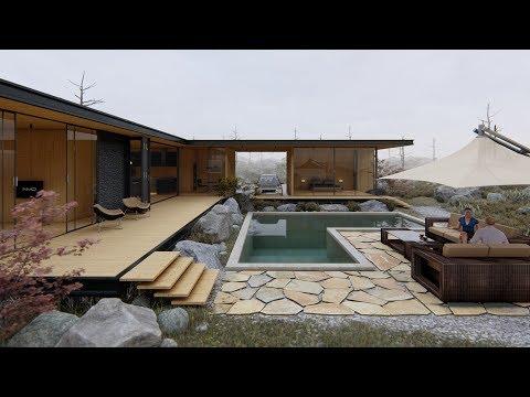 LUMION 8 Pro Render Modern House#8