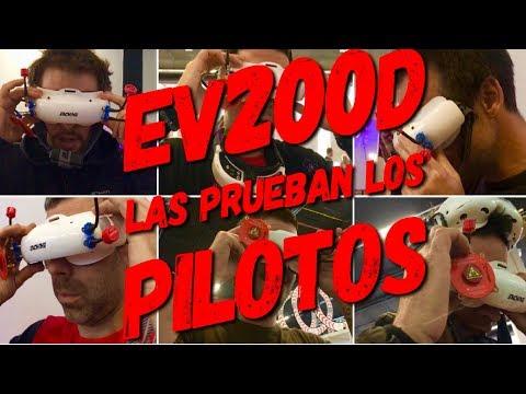 EV200D: las prueban varios pilotos y dan su opinión