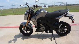 5. $2,999:  2017 Kawasaki Z125 Pro Metallic Graphite Gray Overview and Review