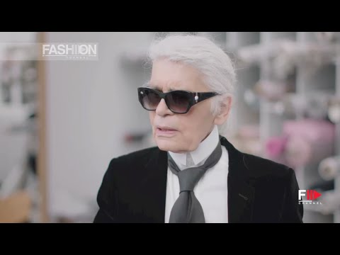 CHANEL Karl Lagerfeld's Interview Fall 2016 Haute Couture Paris by Fashion Cha… видео