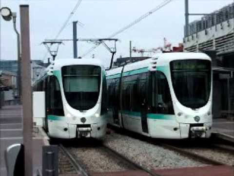 tram - The French region of Île-de-France, encompassing the capital city of Paris, currently has four tram lines, and is planning an additional line. Of the existin...