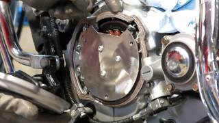 9. Kawasaki Vulcan VN750 stator replacement without removing the engine