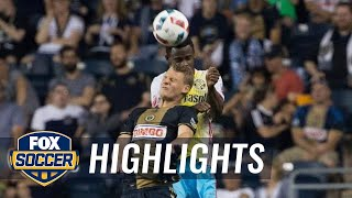 Philadelphia Union vs. Columbus Crew | 2016 MLS Highlights by FOX Soccer