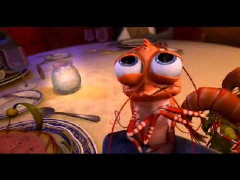 The shrimp from shark tale