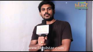 Muthu Ramalingam Speaks at Prabha Shooting Spot