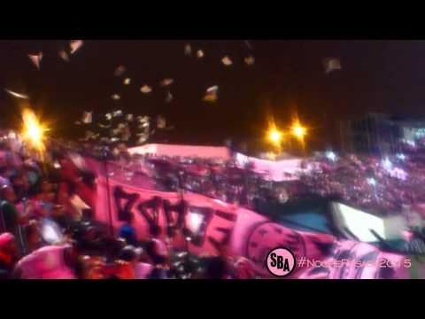 4 OLAS seguidas - Noche Rosada 2015 · BPJR · Sport Boys - Barra Popular Juventud Rosada - Sport Boys