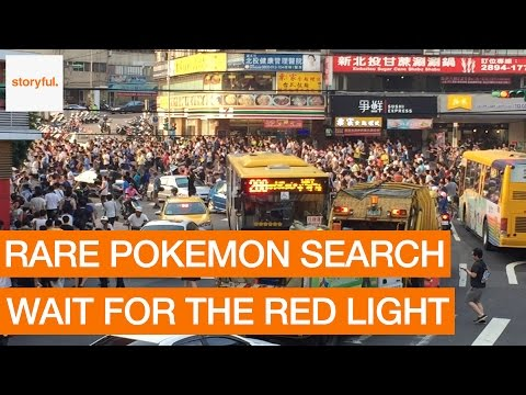 Pokemon Sparks Stampede in Taipei