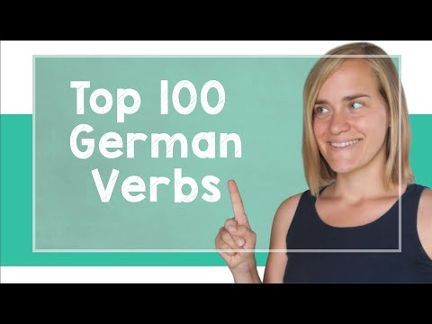 German Lesson (106) - The Top 100 German Verbs - A2 (видео)