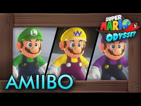 Super Mario Odyssey - How to Get Amiibo Costumes Without Amiibo