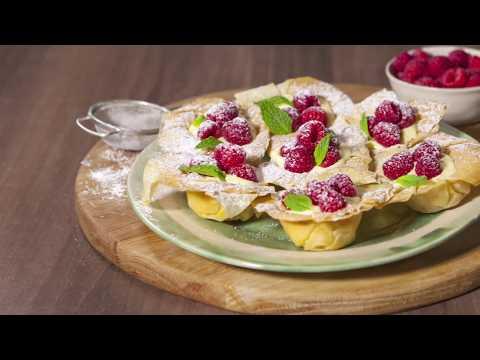 Jus-Rol Lemon, Mascarpone & Raspberry Filo Tartlets - Perfect Recipe Inspiration No. 3