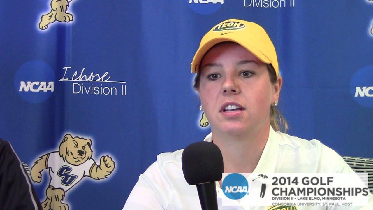 2014 NCAA DII SR 3 Women's Golf: Arkansas Tech, Round 3
