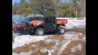 4. Kubota 1120D put to work