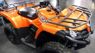 9. 2018 CFMoto CForce 400 Orange
